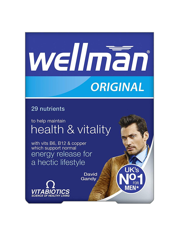 Wellman original Vitamins - reduced from £6 to £1.50 instore @ Asda Tilehurst