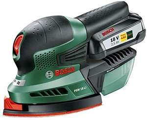 BOSCH PSM18Li cordless bare tool detail sander for 1 for all batteries limited deal - £38.99 @ Amazon