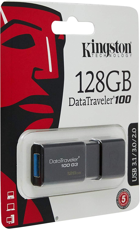Kingston 128GB Flash drive for £13.45 at Amazon Prime / +99p non Prime