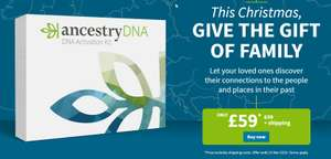 Save £20 on Ancestry DNA testing
