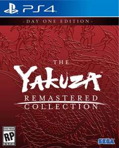 Yakuza Remastered Collection PS4 £35.10 Pre Order from TheGameCollection