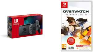Nintendo Switch (Improved Battery - Grey Only) + Overwatch Legendary Edition - £289 delivered @ Amazon