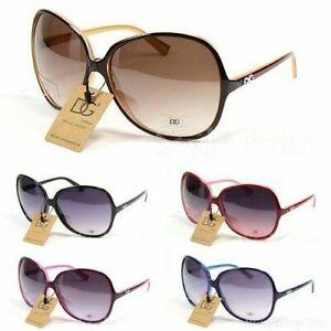 Oversized Vintage Designer Women's Ladies Sport Fashion Sunglasses - £12.97 delivered @ fashiontrendzonline / eBay