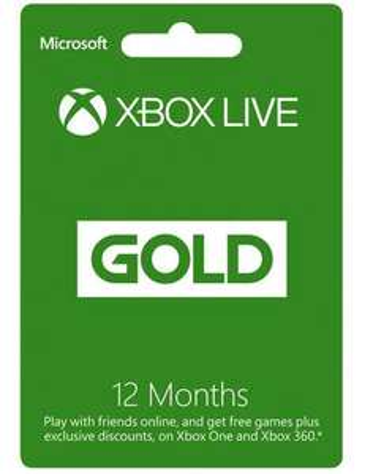 Xbox live 12 month membership - £39.99 @ Argos