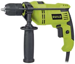 20% off Guild 13mm Keyless Corded Hammer Drill - 600W - £20 @ Argos
