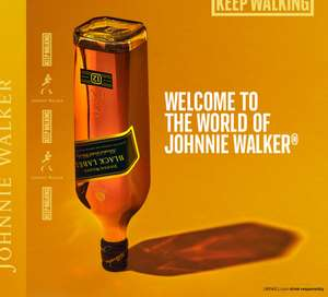 15% off Johnnie Walker Whiskey and Fever Tree Ginger Ale