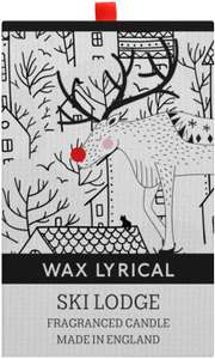 Wax Lyrical Ski Lodge Candle, Up To 50 Hours Burn Time, 11cm x 11cm x 15cm - £12.99 Prime / +£4.49 non Prime @ Amazon