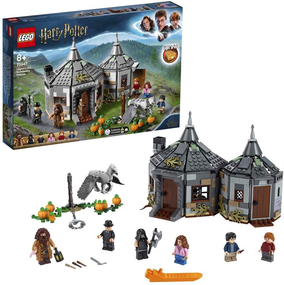 LEGO 75947 Harry Potter Hagrid's Hut: Buckbeak's Rescue Playset with Hippogriff Figure - £36.97 @ Amazon
