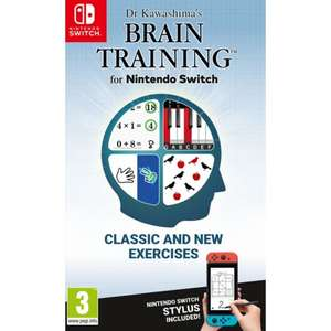 DR KAWASHIMA'S BRAIN TRAINING Nintendo Switch £23.70 @ The Game Collection