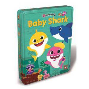 Baby Shark Tin of Books.Was £12.99 NOW £4.99 (£3.99 delivery / Click and Collect) @ TheToyShop.com (The Entertainer)