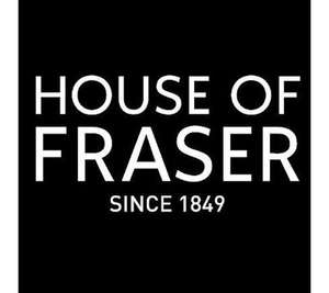 House Of Fraser Extra 20% off in store extended until 11/11/19