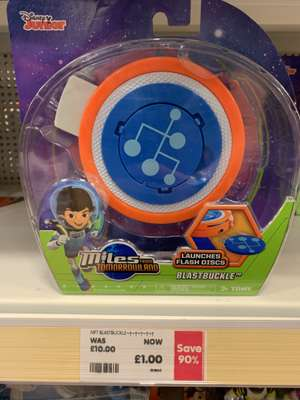 Miles From Tomorrowland Blast Buckle £1 instore @ TheToyShop.com (The Entertainer)