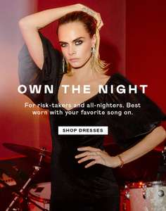 Next day delivery only £1.99 @ Nasty Gal