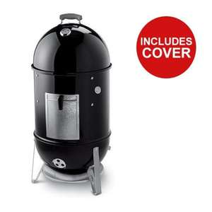 Weber Smokey Mountain (All sizes) With Free iGrill 2 - £265.49 & Free Delivery (With Code) @ Riverside Garden Centre