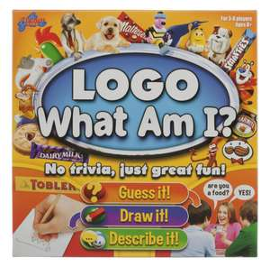 Logo What Am I? Board Game - £13.99 @ WH Smith (+£2.49 Delivery)