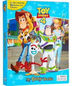 Toy Story 4 - My Busy Books (10 figurines & book & playmat) - £5.99 @ TK Maxx (+£1.99 Click & Collect)