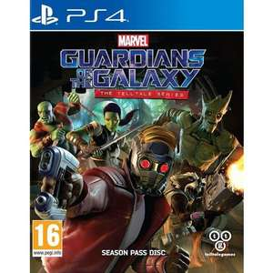 [PS4] Marvel's Guardians Of The Galaxy: The Telltale Series - £8.50 delivered @ The Game Collection
