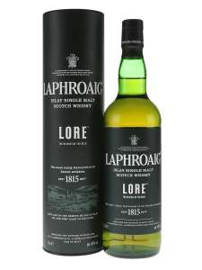 Laphroaig Lore Islay Single Malt Scotch Whisky, 70 cl - £59.95 @ Amazon
