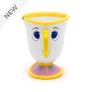 Chip Character Cup, Beauty And The Beast £4.24 with code stack (see thread) @ Shop Disney
