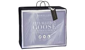 Downland 10.5 Tog Goose, Feather and Down Duvet - Single - £22.33 @ Argos (Free Collection)