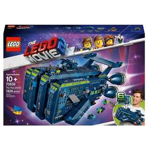 LEGO 70839 The LEGO Movie 2 The Rexcelsior - £99.99 @ Smyths