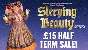 Half Price Panto Tickets - £15 (With Code) - on Selected Dates @ Nottingham Playhouse