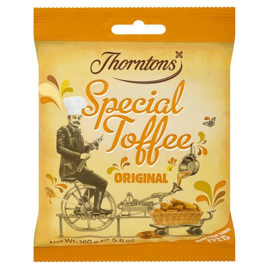Thorntons Original Special Toffee Bag 160g - £1 @ Iceland
