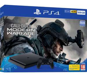Playstation 4 console with Modern warfare n more - £209 @ GAME