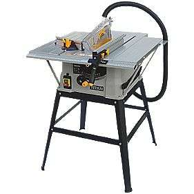 Titan 254Mm Electric Table Saw £79.99 (With Code) @ Screwfix