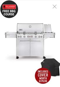 Weber 670 BBQ - £3419 with free cover (worth £179)at Riverside Garden Centres using code