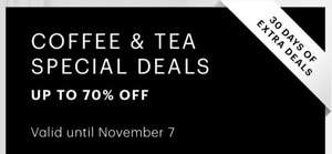 Up to 70% off coffee & tea products at Bodum Shop