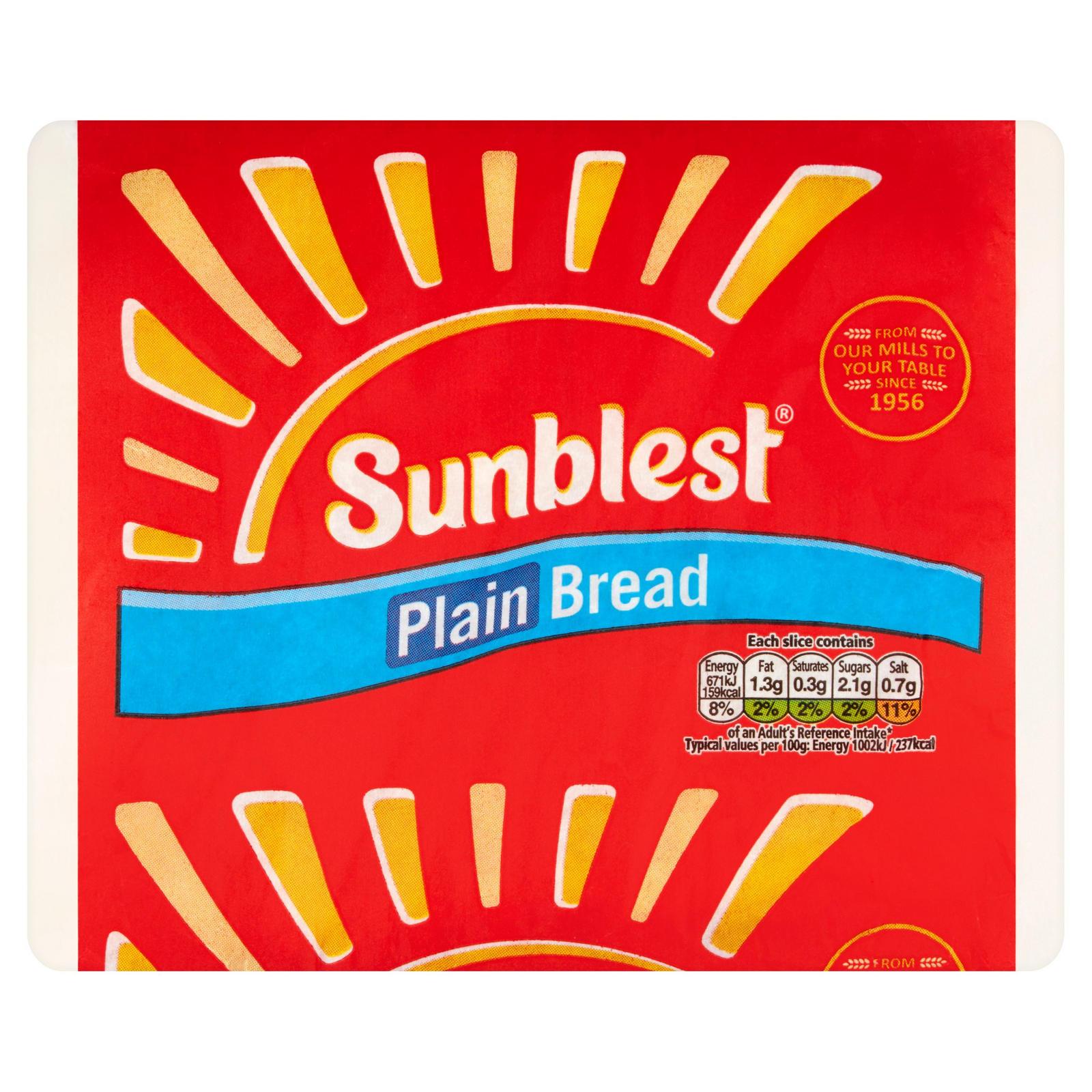 Sunblest bread 800g - 39p at Farmfoods Llanelli