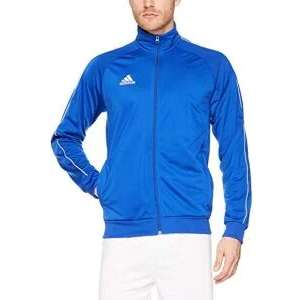 Adidas Men's Core 18 Polyester Tracksuit Jacket Various Colours From £13.95 Prime / £18.44 Non-Prime @ Amazon