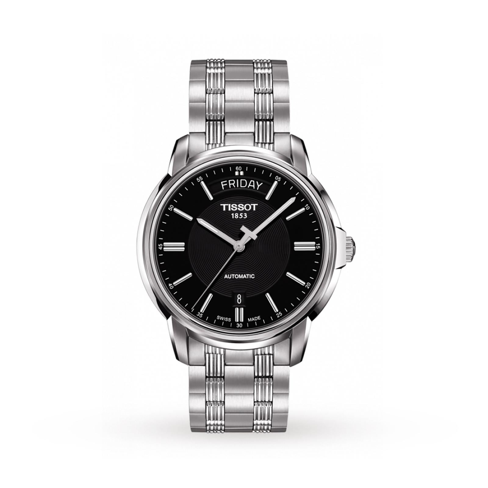 TISSOT Automatics III Day Date Sapphire Crystal And ETA Movement Watch £261 @ Goldsmiths