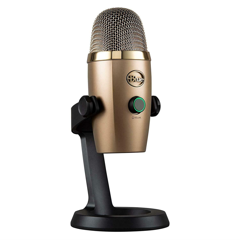 Blue Microphones - Yeti Nano USB Mic - Grey - Manufacturer Refurbished £46.99 at ebay / itstor