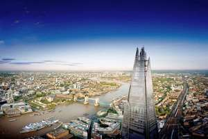 Two vouchers for View from the Shard for 2 (overall 4 entries) for £60 at BuyAGift