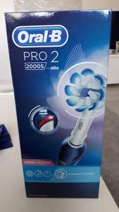 Oral-B Pro 2 2000S Sensi Ultrathin Electric Toothbrush Rechargeable Powered By Braun - £20 at Asda Havant