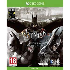 [Xbox One] Batman Arkham Collection Steelbook Edition - £24.65 delivered @ The Game Collection