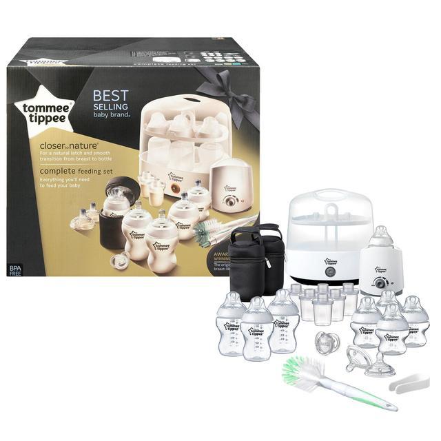 Tommee Tippee Complete Feeding Kit White 0mths+ £63.99 @ Ocado