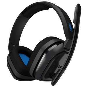 ASTRO Gaming A10 Wired Headset Compatible with PlayStation 4, Xbox One, PC, Mac, Black/Blue £37.94 at Box
