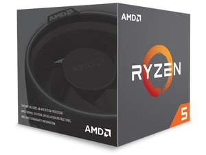 AMD Ryzen 5 2600X Processor with Wraith Spire Cooler £118.97 at CCLOnline (Free game pass)