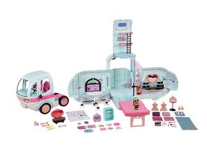 L.O.L Surprise! 2-in-1 Glamper Fashion Camper with 55+ Surprises, Multi £89.97 @ Amazon