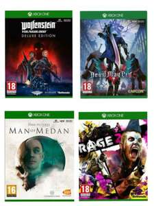 [Xbox One] Wolfenstein Youngblood Deluxe £11.99 / DMC5 £13.99 / Man Of Medan £14.99 / Rage 2 £15.99 ex rentals delivered @ boomerang ebay