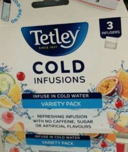 Tetley cold infusions variety 3 infusers 20p instore @ Sainsbury's Ashton Moss