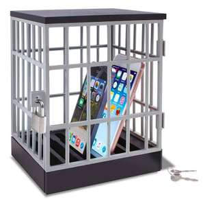 Table Top Gadget Prison - £3.75 (With Code) @ The Works - free Click & Collect