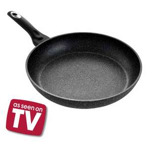Wilko - 30cm Aluminium Shot Blast Frying Pan- 10 Year Guarantee - £10 In-store Fulham, London (other sizes reduced,too)