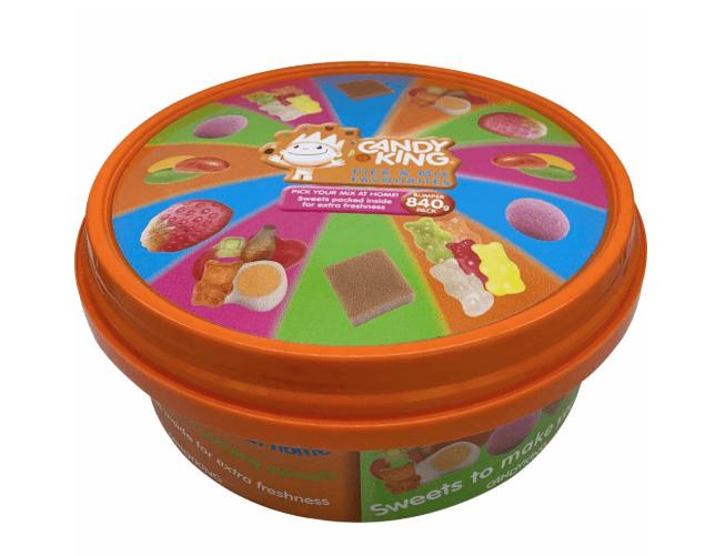 Candyking Share Tub (840g) £2.50 @ Sainsbury's