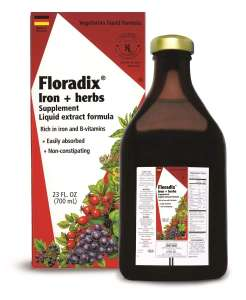 500ml Floradix Liquid Iron 3 for 2 - £36 for 3 @ Boots instore or C&C
