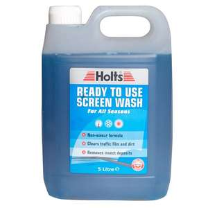 Holts Ready-To-Use Screen Wash 5Ltr £1.82 @ Carparts4less