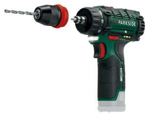 Parkside Cordless 12v power tools (no battery) from £17.99 starts 17th Nov